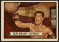 Boxing Cards:General, 1951 Topps Ringside Rocky Marciano #32. ...