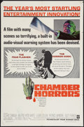 "Movie Posters:Horror, Chamber of Horrors (Warner Brothers, 1966). One Sheet (27"" X 41""). Horror.. ..."