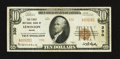 National Bank Notes:Maine, Lewiston, ME - $10 1929 Ty. 2 The First NB Ch. # 330. ...