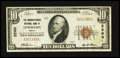 National Bank Notes:Maine, Lewiston, ME - $10 1929 Ty. 1 The Manufacturers NB Ch. # 2260. ...