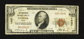 National Bank Notes:Maine, Bangor, ME - $10 1929 Ty. 1 The Merchants NB Ch. # 1437. ...