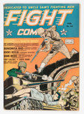Golden Age (1938-1955):War, Fight Comics #24 (Fiction House, 1943) Condition: FN-....