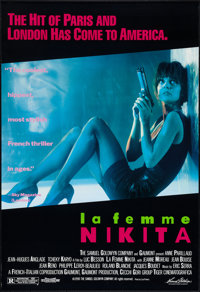 "La Femme Nikita (Samuel Goldwyn, 1991). One Sheet (27"" X 39.5""). Crime"