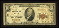 National Bank Notes:Maine, Bath, ME - $10 1929 Ty. 1 The Bath NB Ch. # 494. ...