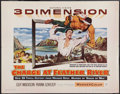 """Movie Posters:Western, The Charge at Feather River (Warner Brothers, 1953). Half Sheet (22"""" X 28""""). 3-D Style. Western.. ..."""