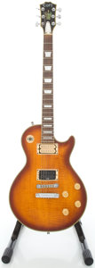 Musical Instruments:Electric Guitars, Circa 1980's Cort L.P. Style Sunburst Solid Body ElectricGuitar....