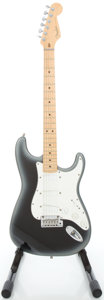 Musical Instruments:Electric Guitars, 1995 Fender Stratocaster Plus USA Silverburst Solid Body ElectricGuitar, #N551666....