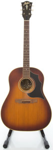 Musical Instruments:Acoustic Guitars, 1969 Hofner Sunburst Acoustic Guitar, #71969....