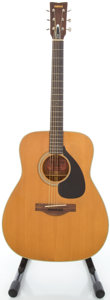Musical Instruments:Acoustic Guitars, 1970's Yamaha FG-180 Natural Acoustic Guitar, #152360....