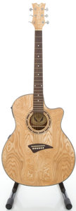 Musical Instruments:Acoustic Guitars, Dean EQA Natural Acoustic Electric Guitar, #SW07103421....