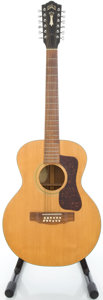 Musical Instruments:Acoustic Guitars, 1973 Guild F-112 Natural 12 String Acoustic Guitar, #81210....