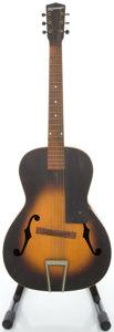 Musical Instruments:Acoustic Guitars, Late 1930's Kalamazoo KG Sunburst Archtop Acoustic Guitar,#3986....