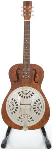 Musical Instruments:Acoustic Guitars, Gibson OMI Hound Dog Walnut Resonator Guitar, #D3031950....