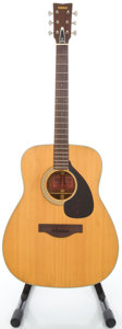 Musical Instruments:Acoustic Guitars, 1970's Yamaha FG-180 Natural Acoustic Guitar, #0413481....