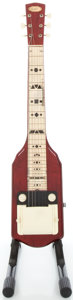 Musical Instruments:Lap Steel Guitars, 1956 Supro MOTS Lap Steel Guitar, #X62502....