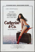 "Movie Posters:Sexploitation, Catherine & Co. (Warner Brothers, 1975). One Sheet (27"" X 41"").Sexploitation.. ..."