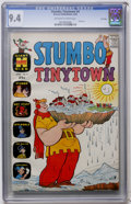 Silver Age (1956-1969):Humor, Stumbo Tinytown #4 File Copy (Harvey, 1964) CGC NM 9.4 Off-white to white pages....