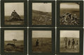 "Photography:Cabinet Photos, VERY SCARCE AND DESIRABLE HUFFMAN PHOTO SERIES OF THE CUSTERBATTLEFIELD. In 1877, L.A. Huffman found himself acting as ""Pos...(Total: 6 Item)"