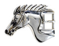 Estate Jewelry:Other , Sterling Silver Buckle, Kieselstein-Cord. The buckle, designed as a horse head, weighs 79.00 grams. Marked B. Keiselstein-...