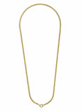 "Estate Jewelry:Necklaces, Gold Necklace, Tiffany & Co.. The ""O"" link chain is made of solid 18k yellow gold. Marked Tiffany & Co. Gross weight 24.50..."