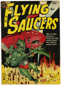 Golden Age (1938-1955):Science Fiction, Flying Saucers #1 (Avon, 1950) Condition: VG+....