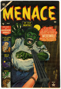 Golden Age (1938-1955):Horror, Menace #3 (Atlas, 1953) Condition: FN....