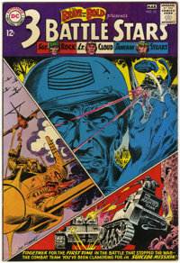 The Brave and the Bold #52 - 3 Battle Stars (DC, 1962) Condition: VF-