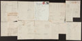 Baseball Collectibles:Others, 1940's-50's Minor League Baseball Team Signed Sheets Lot of 11....