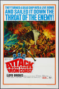 """Movie Posters:War, Attack on the Iron Coast (United Artists, 1968). One Sheet (27"""" X41""""). War.. ..."""