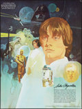 "Movie Posters:Science Fiction, Star Wars (20th Century Fox, 1977). Coca Cola Promotional Tie-InPoster (18"" X 24"") #1 / 4, Coca Cola / Burger Chef Style. L..."