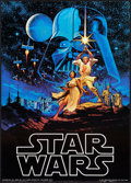 "Star Wars (Factors Inc, 1977). Commercial Poster (20"" X 28""). Science Fiction"