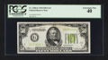 Fr. 2102-G $50 1934 Light Green Seal Federal Reserve Note. PCGS Extremely Fine 40