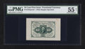 Fractional Currency:First Issue, Fr. 1243SP 10¢ First Issue Wide Margin Face Specimen PMG About Uncirculated 55 Net.. ...