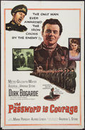 "Movie Posters:War, The Password is Courage (MGM, 1963). One Sheet (27"" X 41""). War....."