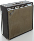 Musical Instruments:Amplifiers, PA, & Effects, Early 1970's Fender Super Reverb Silverface Guitar Amplifier,#A47584....