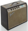 Musical Instruments:Amplifiers, PA, & Effects, Circa 1969 Fender Princeton Silverface Guitar Amplifier, #A10630....