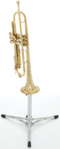 Musical Instruments:Horns & Wind Instruments, Circa 1930 C.G. Conn Brass Trumpet, #266996....