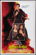 "Movie Posters:James Bond, Licence to Kill (United Artists, 1989). One Sheet (27"" X 41"") Flat Folded. James Bond.. ..."