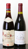 Red Burgundy, Corton. 1990 Bressandes, Dubreuil-Fontaine 1tl Bottle (1).1996 Rapet Pere et Fils Bottle (1). ... (Total: 2 Btls. )