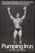 "Movie Posters:Documentary, Pumping Iron (Cinema 5, 1977). One Sheet (29.75"" X 44""). Documentary.. ..."