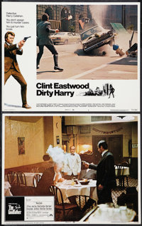 "The Godfather and Other Lot (Paramount, 1972). Lobby Cards (2) (11"" X 14""). Crime. ... (Total: 2 Items)"
