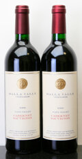 Domestic Cabernet Sauvignon/Meritage, Dalla Valle Cabernet Sauvignon 1996 . Bottle (2). ... (Total: 2Btls. )