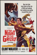 "Movie Posters:Adventure, The Night of the Grizzly (Paramount, 1966). One Sheet (27"" X 41"").Adventure.. ..."