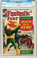 Silver Age (1956-1969):Superhero, Fantastic Four #32 Curator pedigree (Marvel, 1964) CGC NM/MT 9.8White pages....