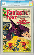 Silver Age (1956-1969):Superhero, Fantastic Four #21 Curator pedigree (Marvel, 1963) CGC NM+ 9.6White pages....
