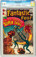 Silver Age (1956-1969):Superhero, Fantastic Four #18 Curator pedigree (Marvel, 1963) CGC NM 9.4 Whitepages....
