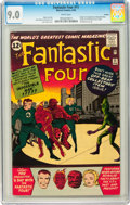 Silver Age (1956-1969):Superhero, Fantastic Four #11 Curator pedigree (Marvel, 1963) CGC VF/NM 9.0White pages....