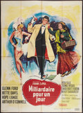 "Movie Posters:Comedy, Pocketful of Miracles (United Artists, 1962). French Grande (45"" X 63""). Comedy.. ..."