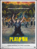 "Movie Posters:Academy Award Winners, Platoon (Orion, 1986). French Grande (47"" X 63""). Academy Award Winners.. ..."