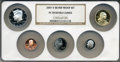 Proof Sets, 2007-S Silver Proof Set PR 70 Ultra Cameo NGC. This Set Includes: Lincoln Cents, Monticello Nickel, Roosevelt Dime, Kennedy ... (Total: 5 coins)